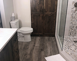 Master Bathroom remodel project by Traditional Floors & Design Center in Saint Cloud, Minnesota