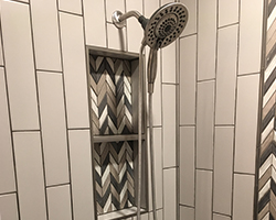 Bathroom Project completed by Traditional Floors & Design Center of Saint Cloud
