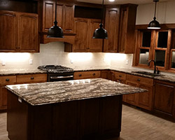 Kitchen Project completed by Traditional Floors & Design Center