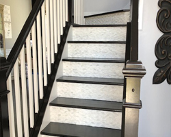 Stairs Project completed by Traditional Floors & Design Center