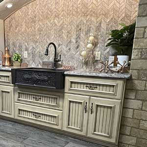 Showroom Gallery Vignette at Traditional Floors & Design Center in St. Cloud