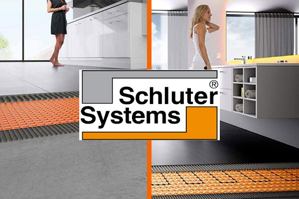 Schluter® manufactures a full line of products uniquely designed for tile, all of which strive to solve common problems found in tile installations